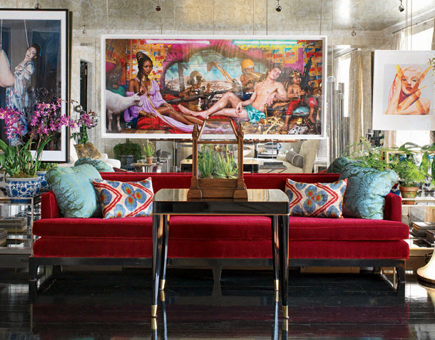 living room with red couch. Red Living Rooms Design Ideas Decorations Photos  How To Decorate Your Room With A Sofa Sofia Vergara